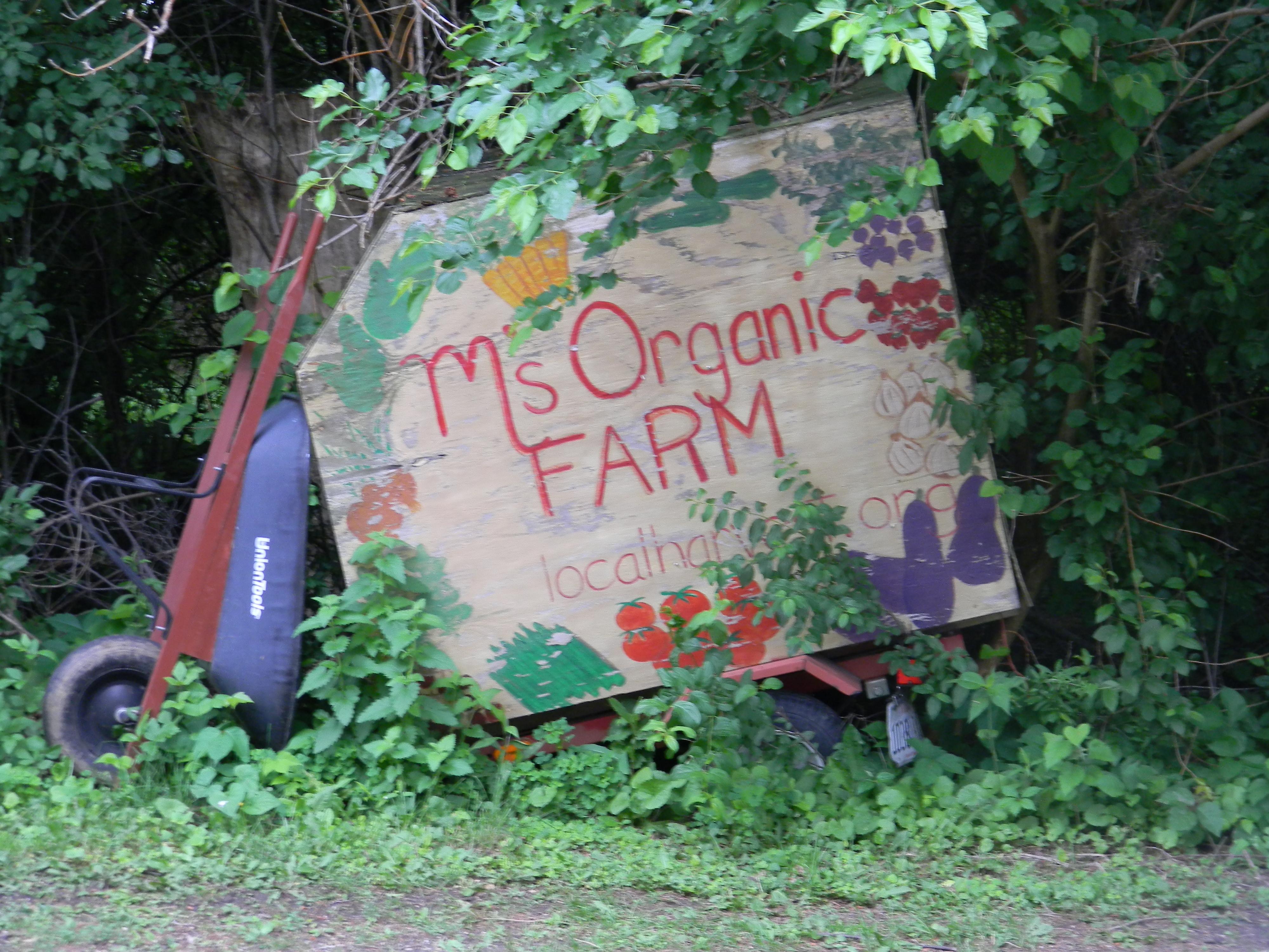 M's Organic Farm Olde Trailor